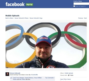 Steven Holcomb USA Bobsled
